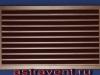Наружная фасадная решетка АВ1