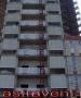 Решетка АВ1 на фасаде строящегося дома