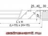 Наружная решетка АВ1 - схема
