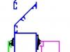 Схема крепления решетки АВ1П в оконном профиле