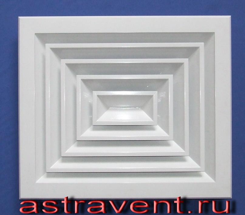 АВ4 прямоугольный анемостат