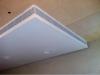 Напольная решетка АВН с рамкой 20мм вид на угол