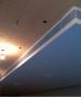 Напольная решетка АВН с рамкой 20мм под потолком