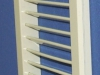 Решетка АВР1 185х185П RAL1015 вес 450г вид сбоку