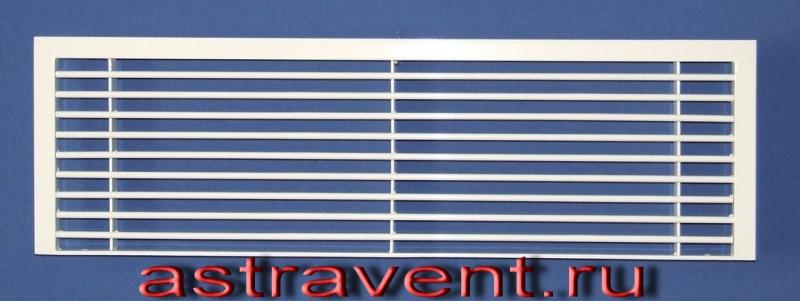 Алюминиевые вентиляционные решетки с подрезом рамки