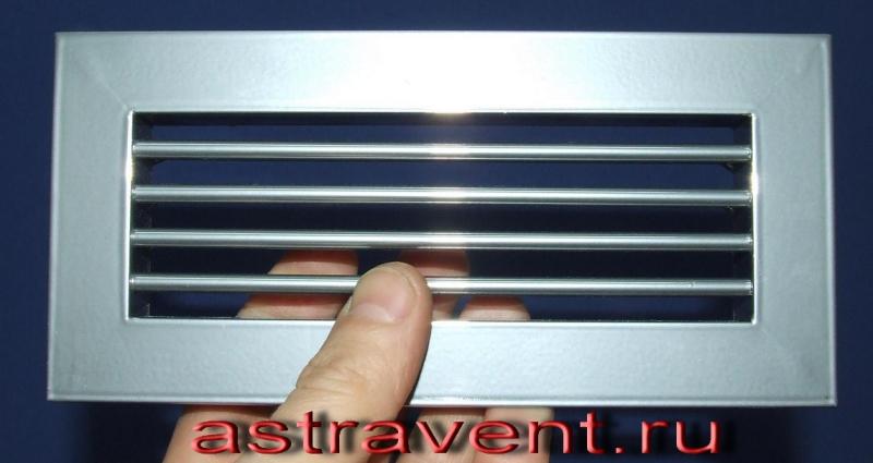 Декоративные вентиляционные решетки для подоконников