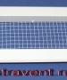 Решетка сетчатая ABC 1585x85 RAL9016 вес 1000г