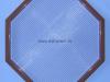 Защитная решетка сетчатая многогранная АВС