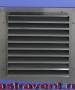 AВ1(У50x30) накладная 450x450 габарит с подрезом нижней рамки до 420 по габариту слева RAL7015 вес 1600г