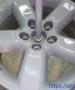 8 - После полимеризации глянцевого порошковаго лака