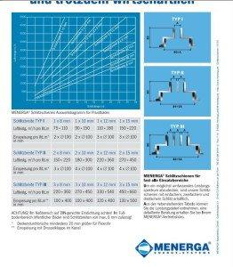 Menerga Type I-III в разрезе