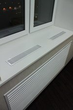 решетка радиатора отопления - декоративный экран